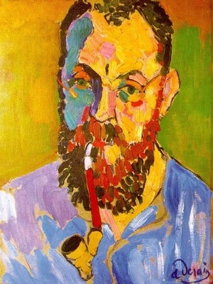 Matisse Self Portrait with Pipe